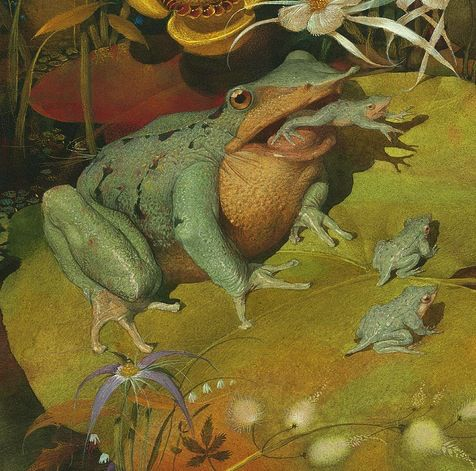 Frog Song, by Brenda Z. Guiberson, with illustrations by Gennady Spirin…