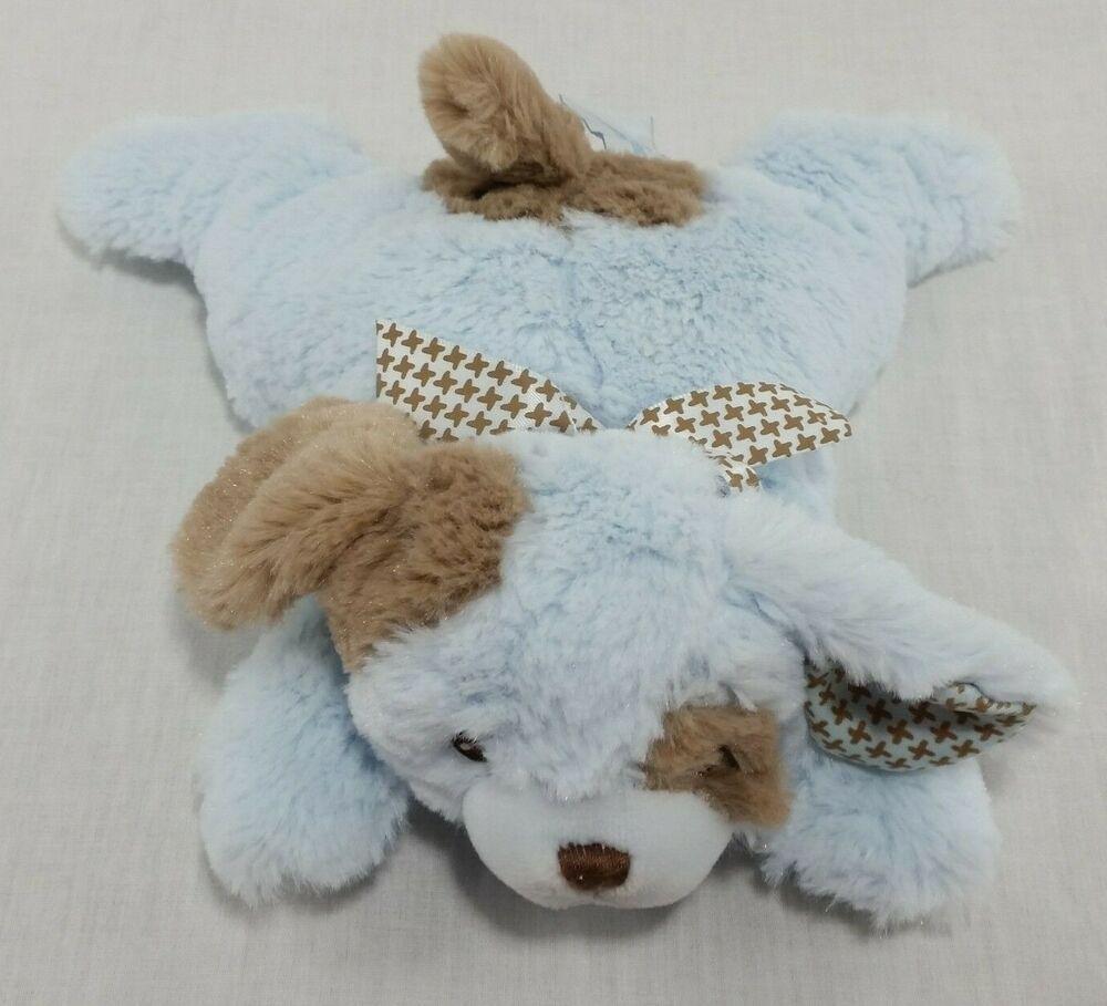 Plush Puppy Dog Bearington Baby Blue Rattle Pillow Soft Toy Stuffed Animal Satin Bearingtoncollection Plush Plushies Bab Pet Toys Dogs And Puppies Soft Toy [ 909 x 1000 Pixel ]