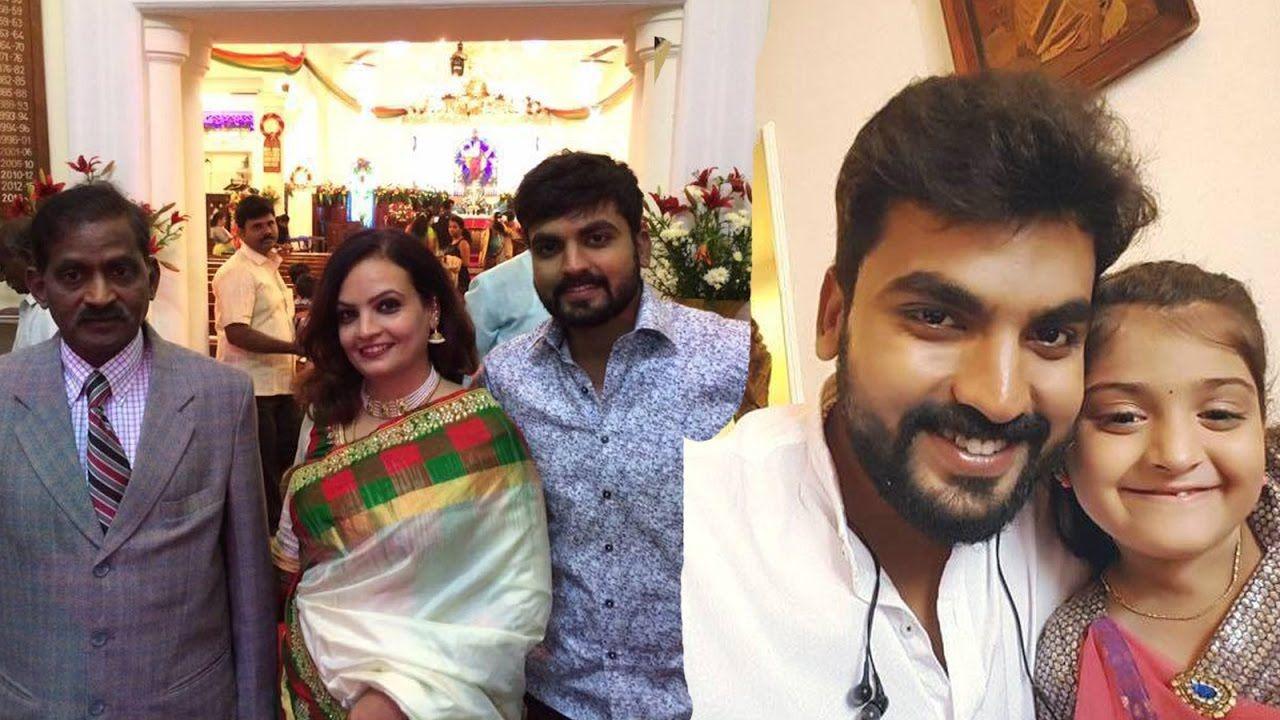 Vijay Tv Neeli Serial Surya Abi Father Family Photos Actor Navin Vict