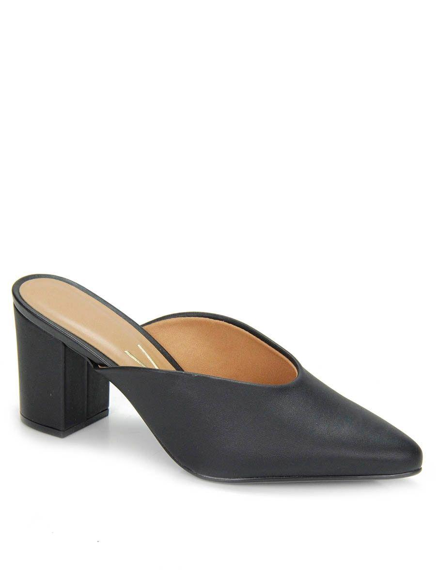 05635dfb6 Sapato Salto Vizzano Mule em 2019 | Wishlist | Heeled mules, Shoes e ...