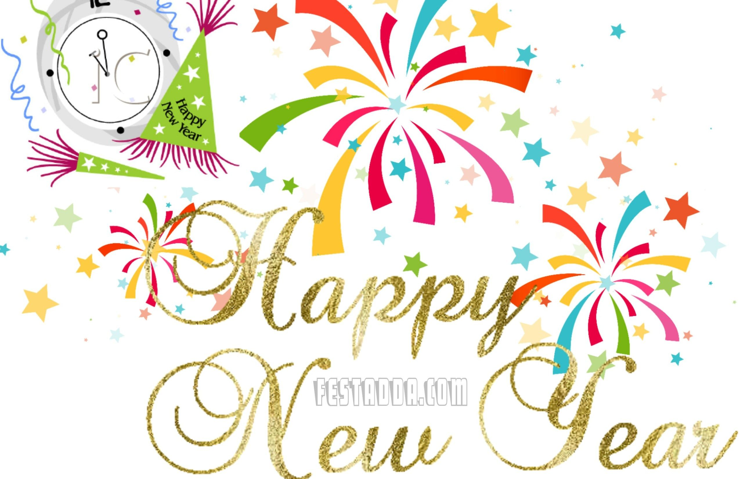Free happy new year clipart 2019 images pics photos