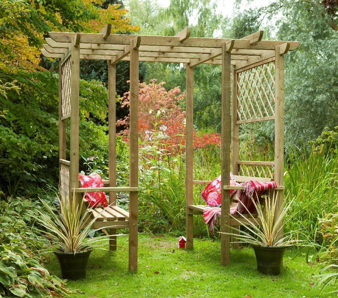 Forest verona walk through garden seated arbour pergola - When you walk through the garden ...
