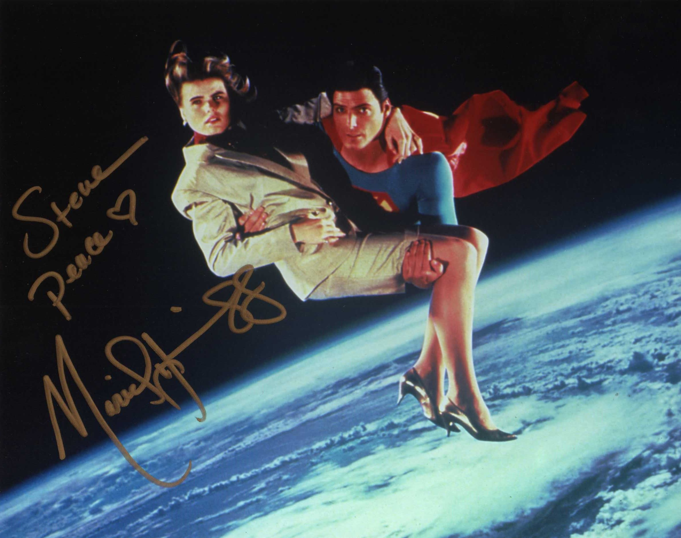 Mariel Hemingway (Superman IV)(Signed at Chiller Theatre 4 ...