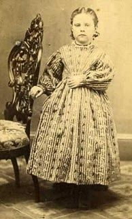 1850-60s Young Girl