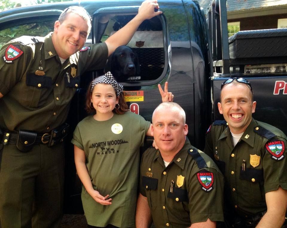 We love our future Maine Game Wardens! NorthWoodsLaw