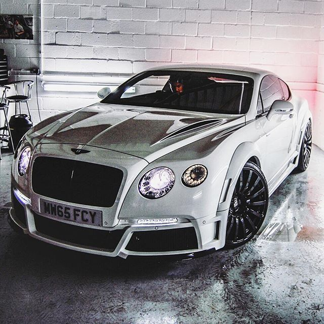 Bentley Continental GT Follow @wolf_millionairefor Our