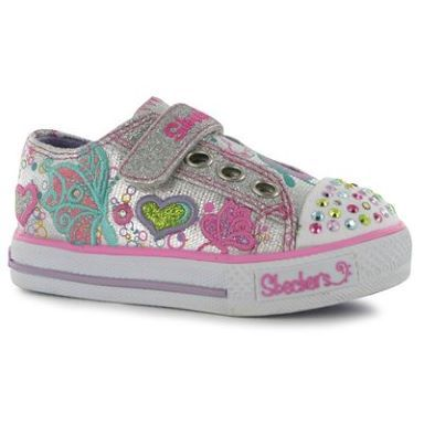 Skechers BT Wing Infant Girls Trainers