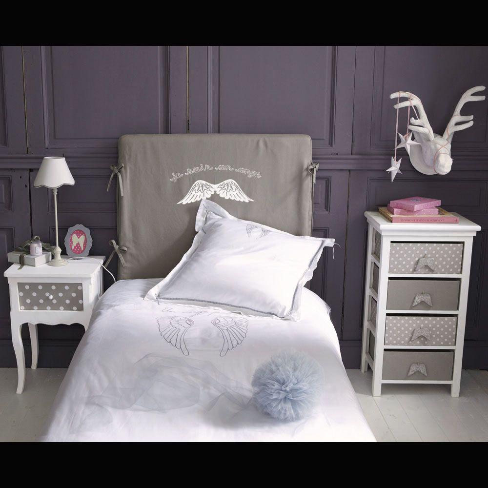 Funda cabecero de cama color topo 90 cm DREAM | Vintage girls room ...