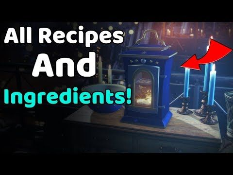 Recipes Videos  Destiny 2 The Dawning , All Eva\u0027s Holiday