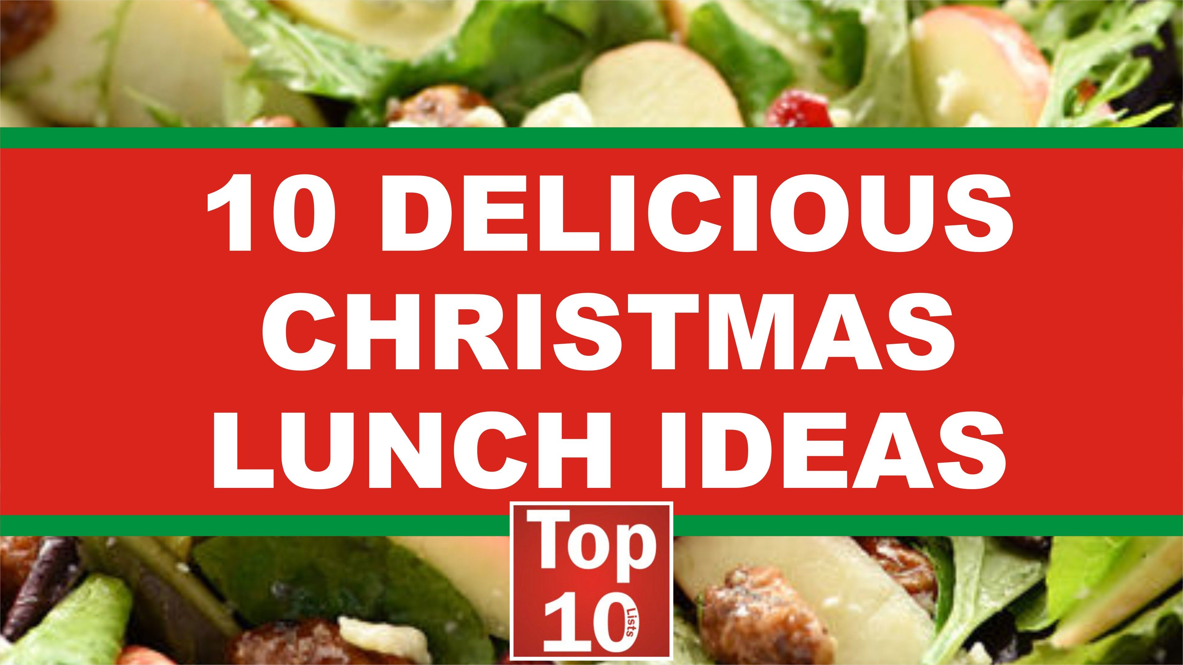 Christmas Lunch Ideas: Top 10 Delicious Recipe (2018) | Top 10