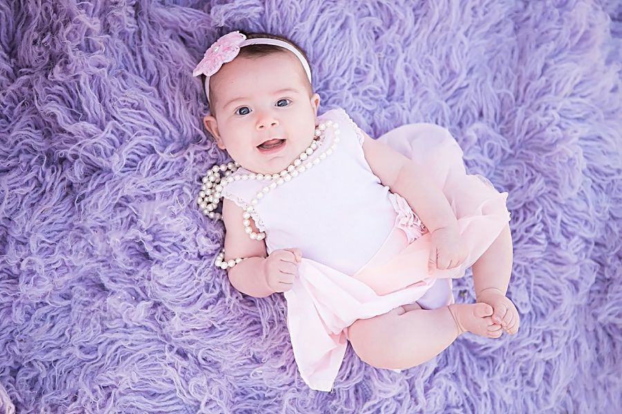 Fur Purple And Pink Baby Photoshoot 6 Month Girl Ideas With Outside Tent Oak Glen