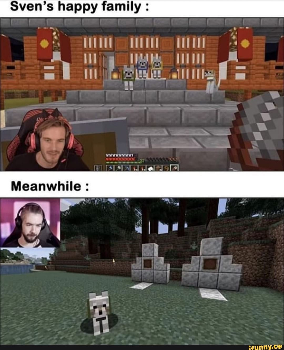 Sven S Happy Family Ifunny Jacksepticeye Memes Pewdiepie