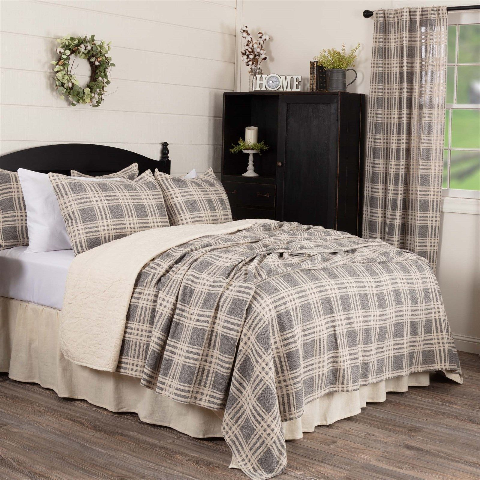 Farmhouse Bed Coverlets   in 2020   Coverlet bedding, Home ...
