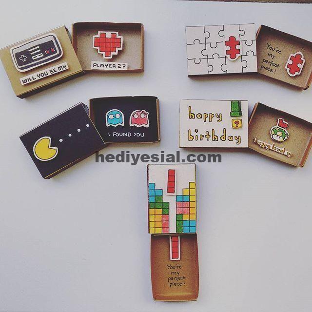 Geek-Modus ON: (von links nach rechts) 1. Wirst du mein Player 2 sein? - Videospiel-Liebeskarte ...,  #liebeskarte #links #modus #player #present #rechts #videospiel #wirst, Geschenk