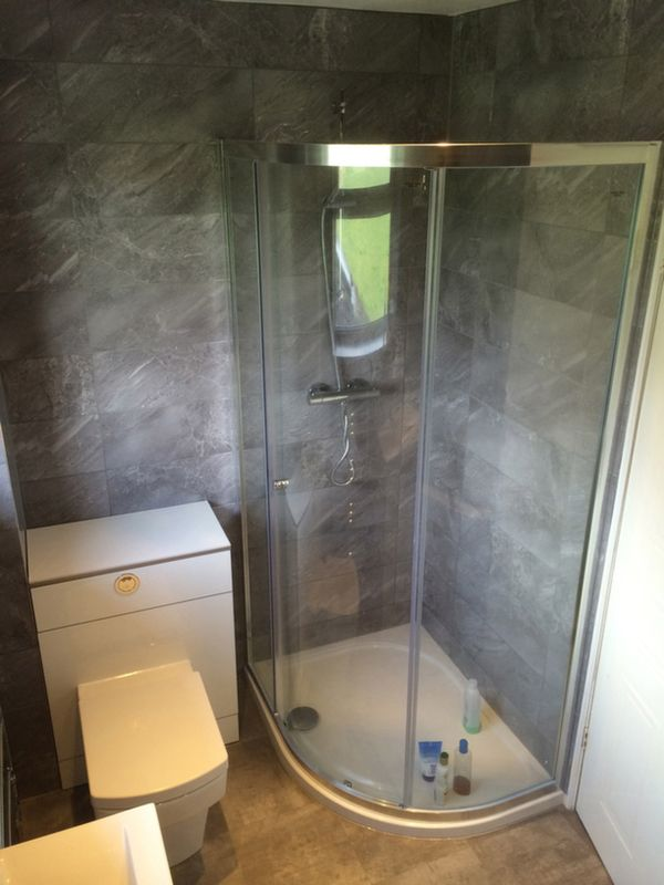 Flush Shower Tray With Bathroom Installation In Leeds | Extension ...