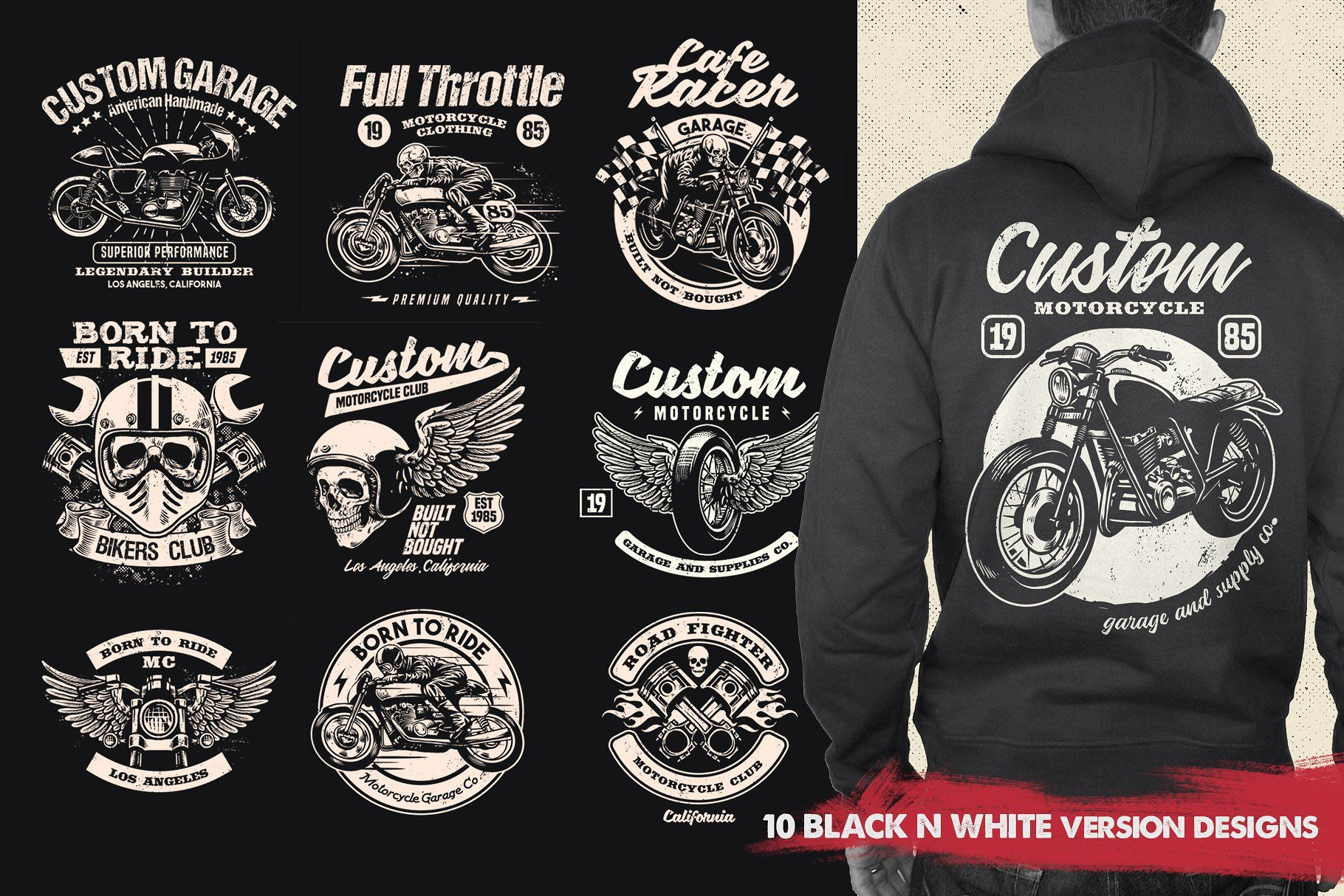 Vintage Motorcycle T Shirt Design Tshirt Designs Motorcycle Tshirts T Shirt Design Vector