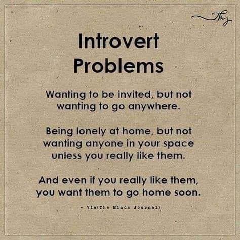 Introvertti Persoonallisuus