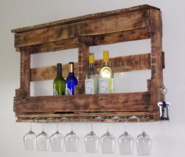 diy 12 meubles incroyables enti rement fabriqu s avec des palettes en bois bricolage r cup. Black Bedroom Furniture Sets. Home Design Ideas
