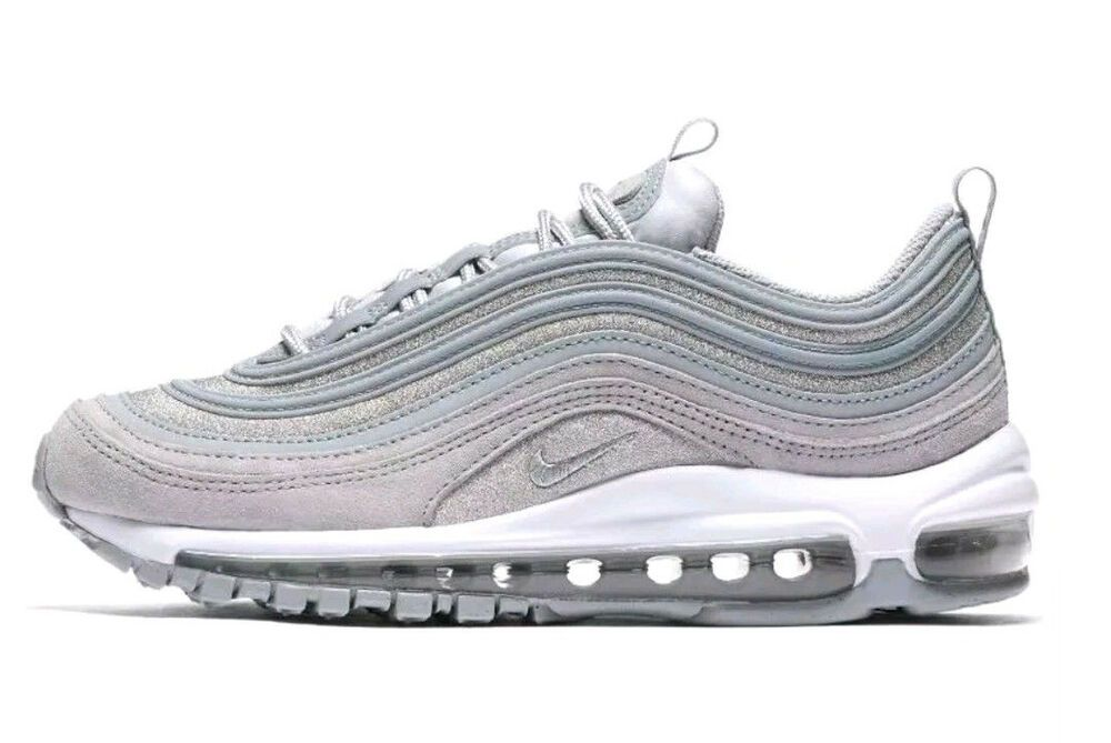 Ostentoso Racional Prohibir  Nike Women's AIR MAX 97 Shoes (Size 7) Wolf Grey/Wolf Grey AT0071 ...