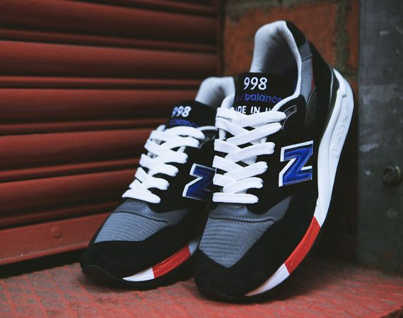 New Balance 998 - Gun Metal