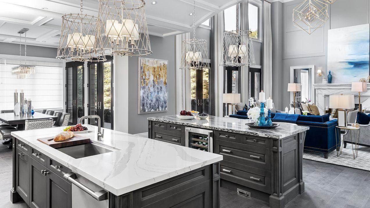 Refine Define Kitchen Decor Grey Home New Homes
