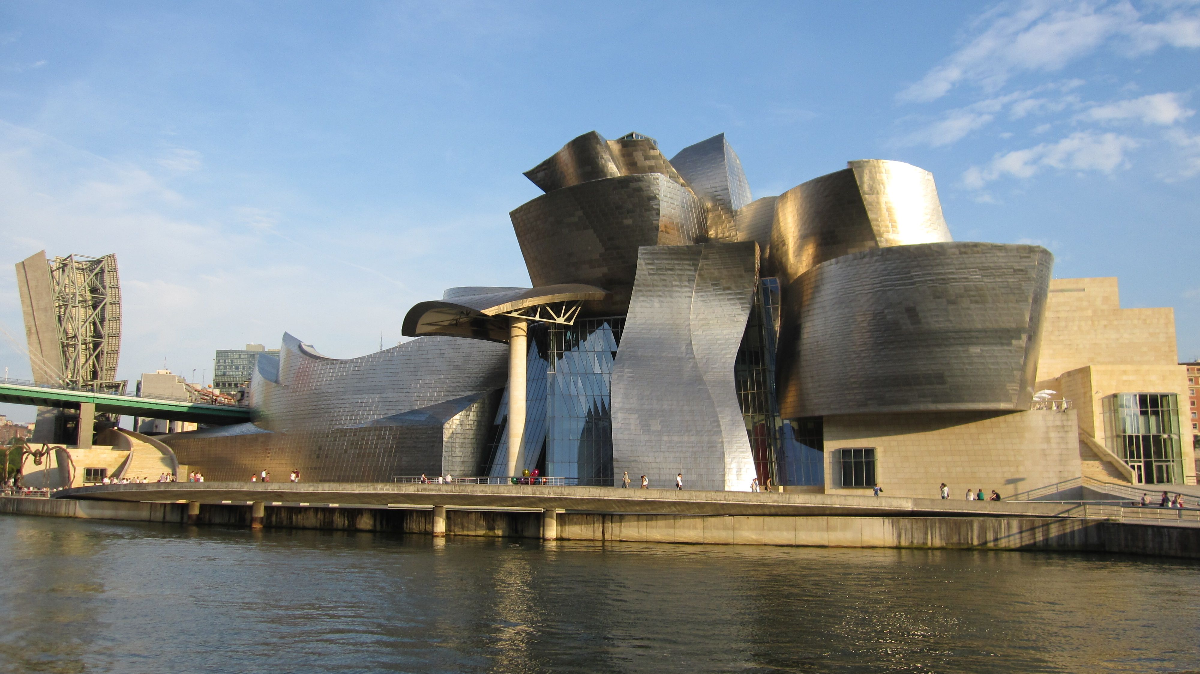 Guggenheim Museum Bilbao Central And Northern Spain