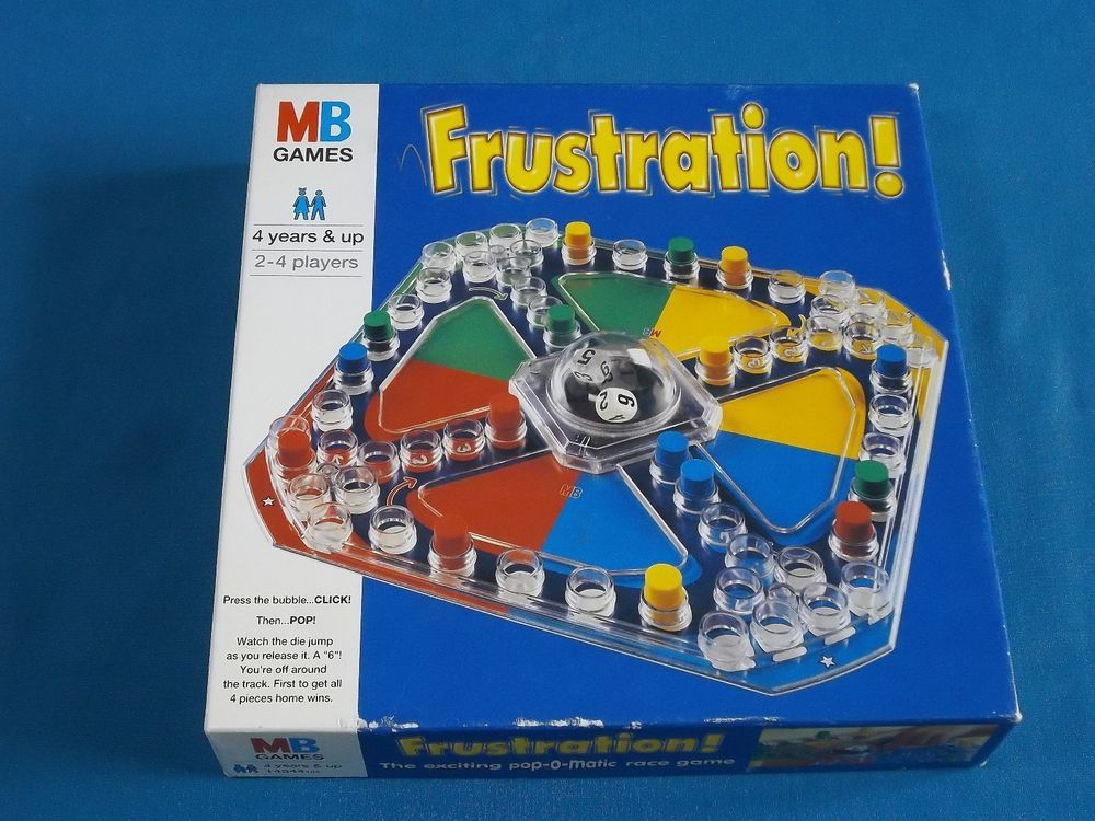 Frustration MB Games 1996 PopOMatic Fun Family Board