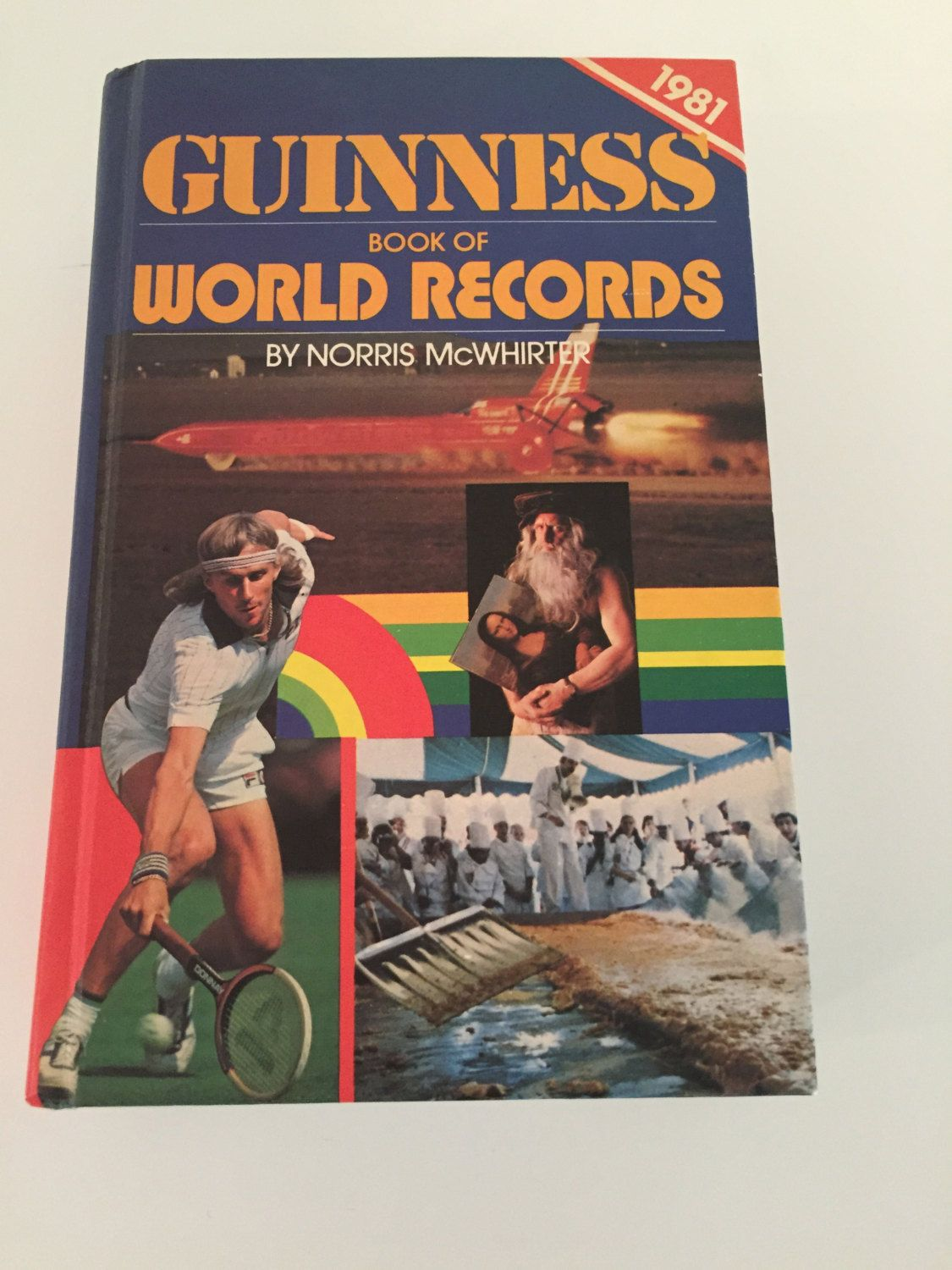 Vintage Guinness Book Of World Records 1981 Guinness Book Of World Records Guinness Book World Records