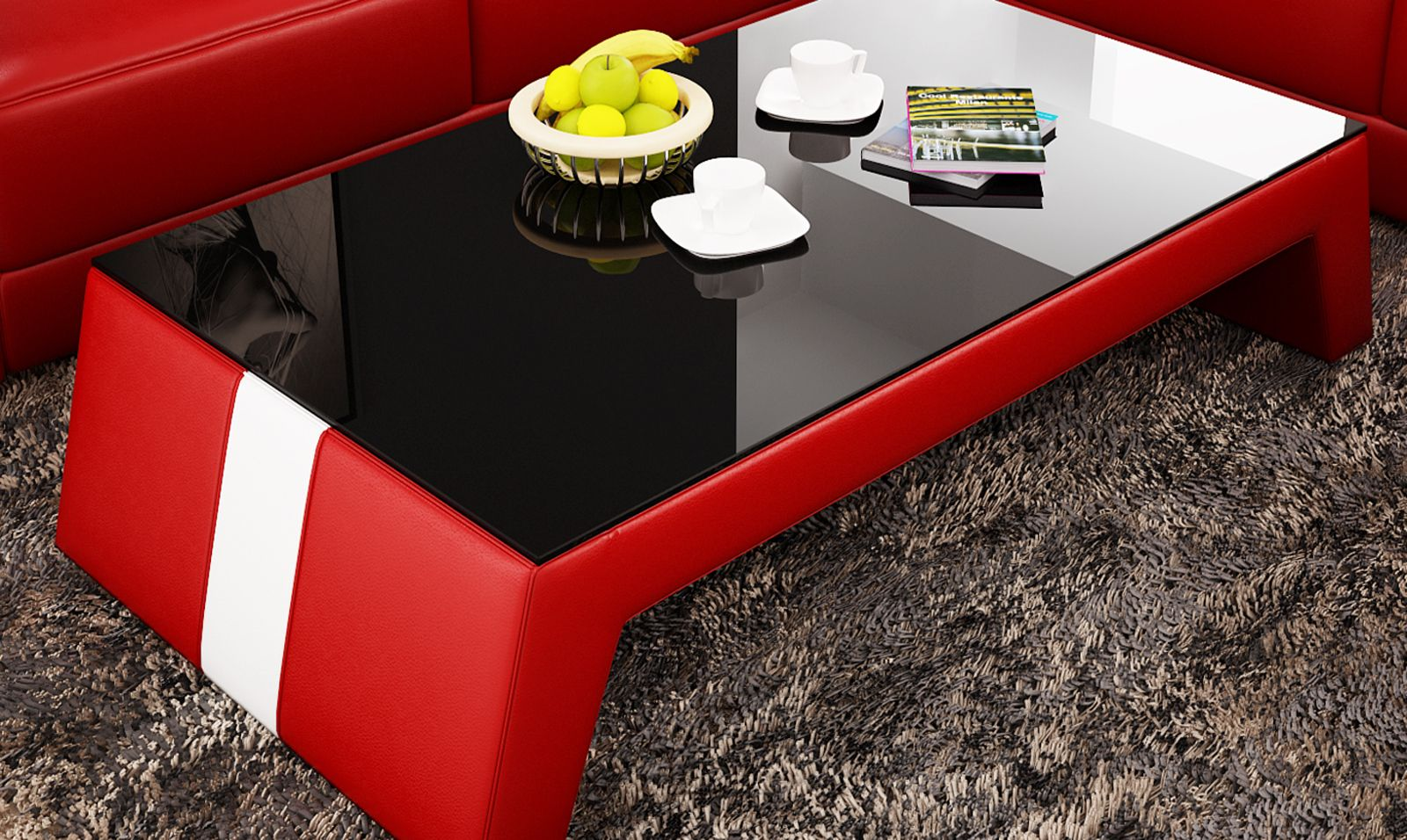 Coffee Tables Furniture Category Cool Furnishings Glass Top Table Leather Coffee Table Coffee Table [ 956 x 1600 Pixel ]