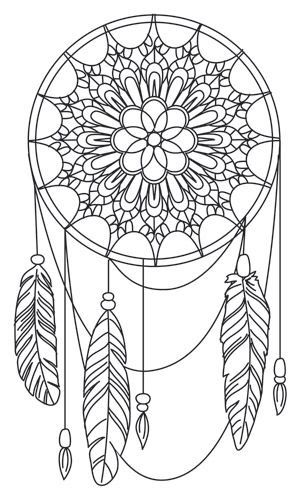 coloriage anti stress reve