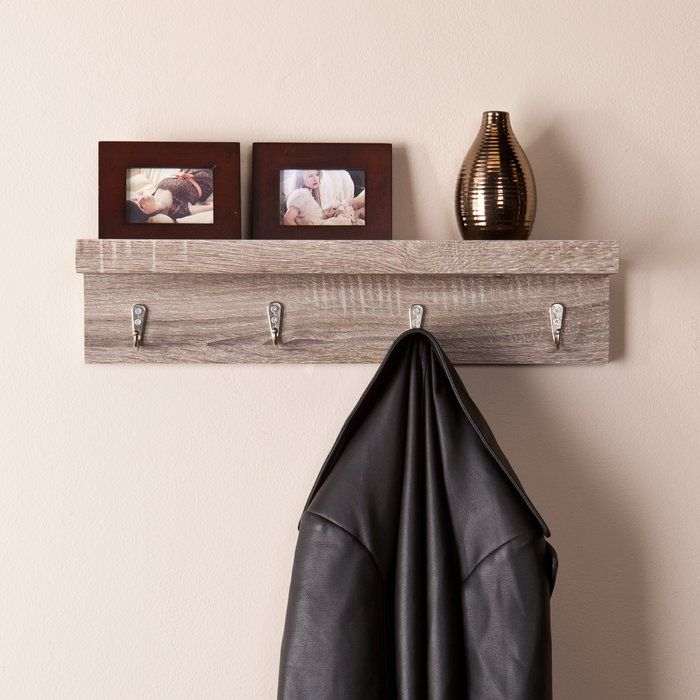 Superior Add This Refined Wall Mount Shelf To Any Room Of Your Home For A Stylish  And Space Saving Alternative To Home Organization. Awesome Design