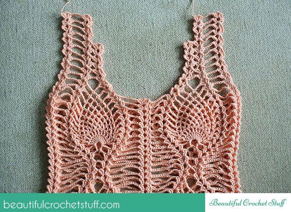 Pineapple Crochet Top Free Pattern Beautiful Crochet Stuff Baby