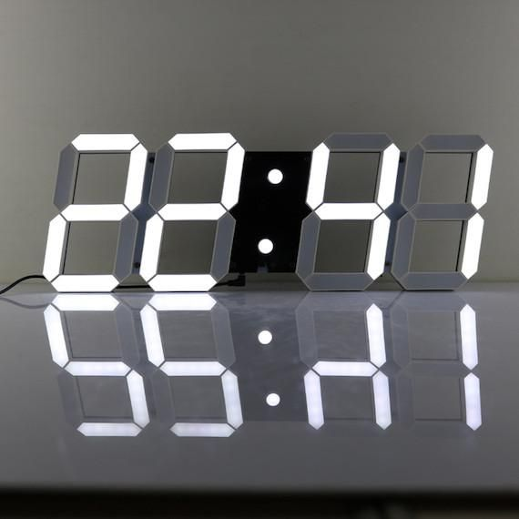Take your ordinary time display at home to an extraordinary level with the LED Digital Wall Clock.
