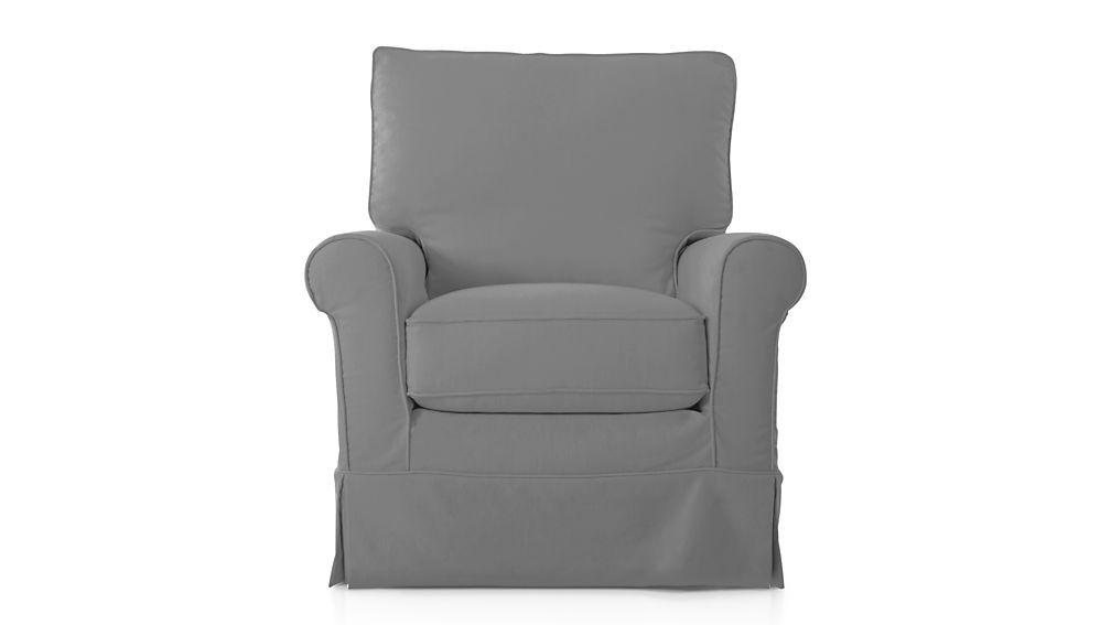 barrel swivel chair slipcover columbia bath harborside slipcovered 360 pepper crate and