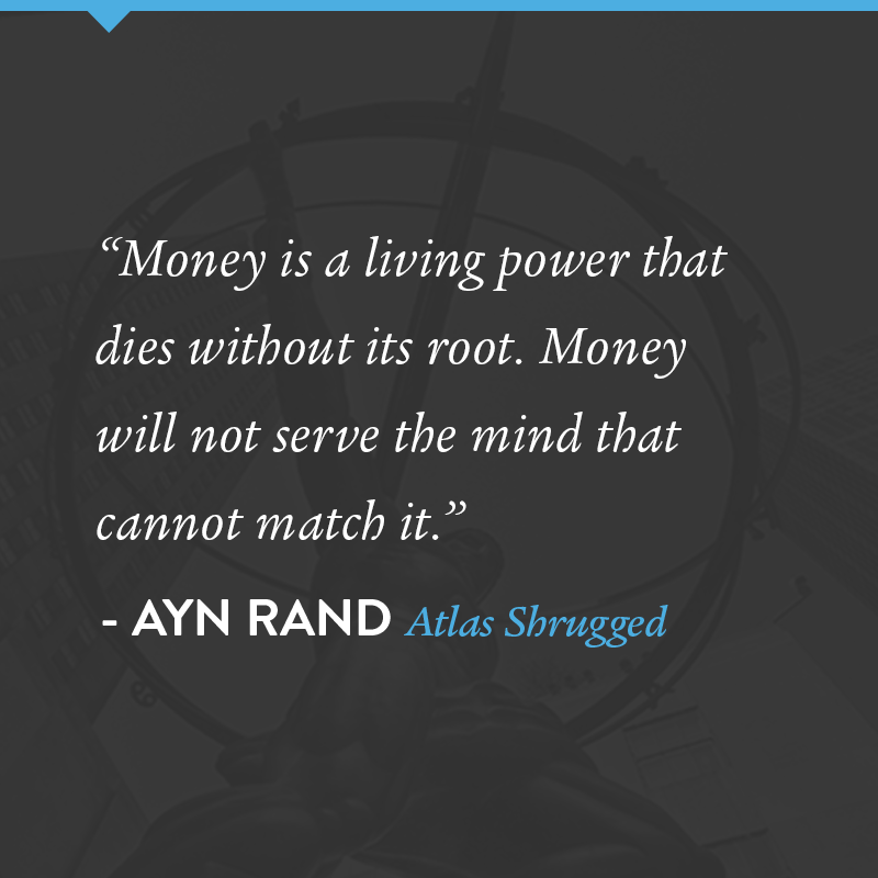A Quote By Ayn Rand From Atlas Shrugged Psychology Quotes