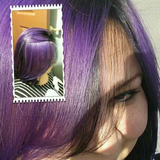 Mi cabello Morado