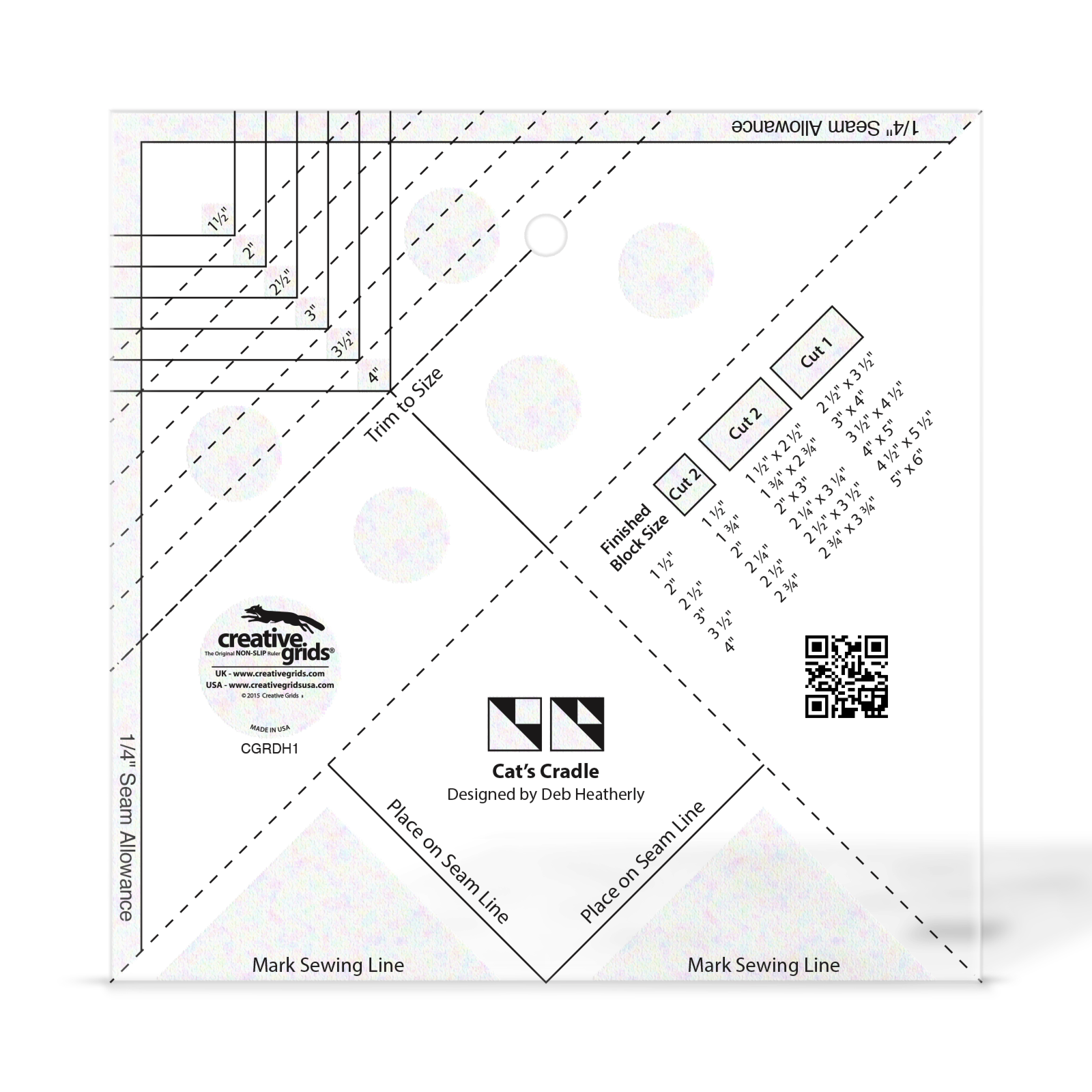 Creative Grids Cats Cradle Tool CGRDH1
