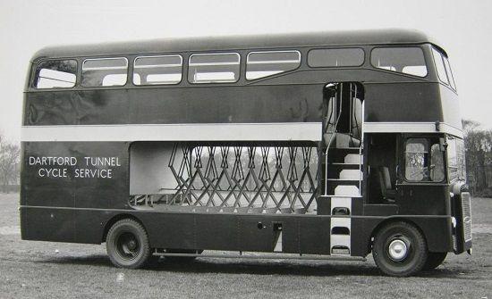 Dartford Tunnel Cycle Bus