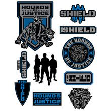 1bd75b87 wwe the shield merchandise | The Shield Decals | the shield dog tags ...