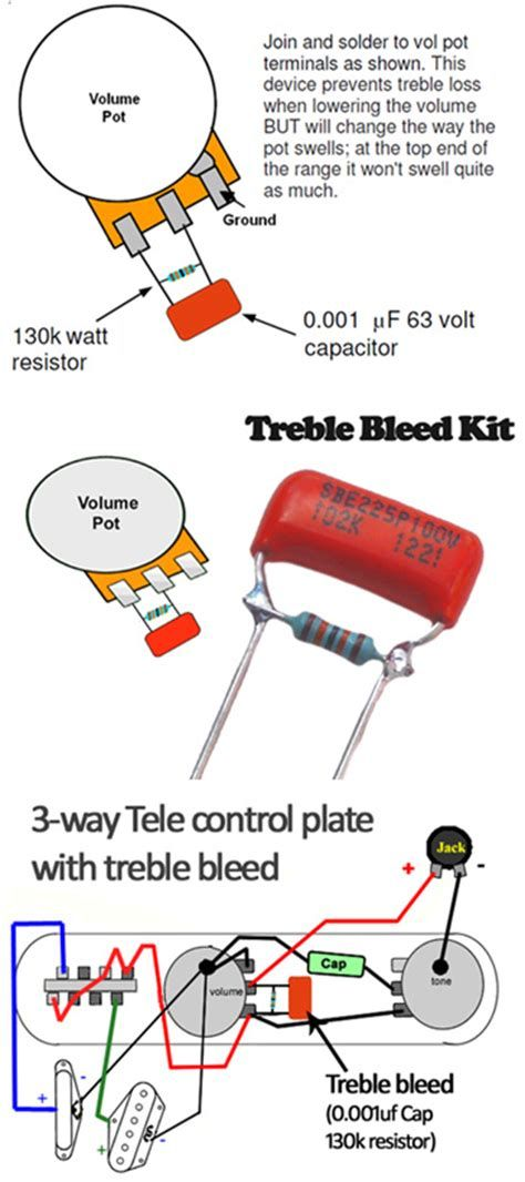 treble bleed circuits red herring tone bones guitar electronics guitar diy guitar pickups. Black Bedroom Furniture Sets. Home Design Ideas