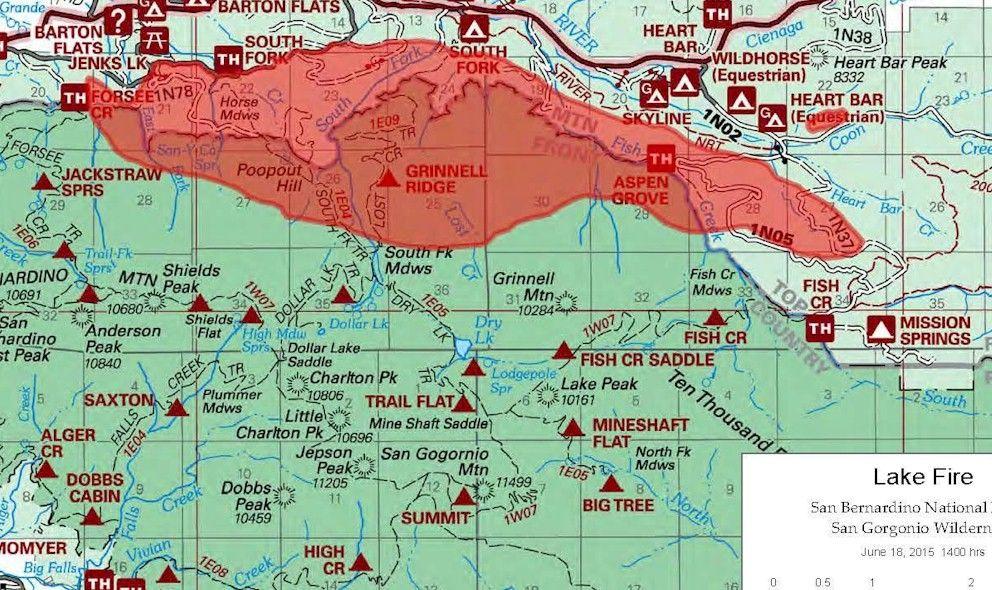 Lake Fire 2015 San Bernardino Barton Flats Fire Updated Today Fire Update San Bernardino Lake