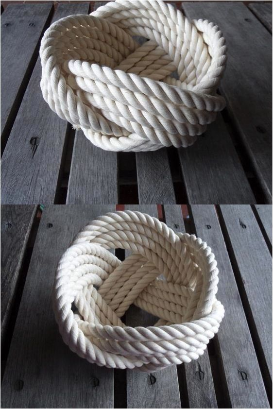 These Rope Bowls Are The Absolute Perfect Accent Piece For