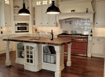 Cape Cod Style Traditional Kitchen