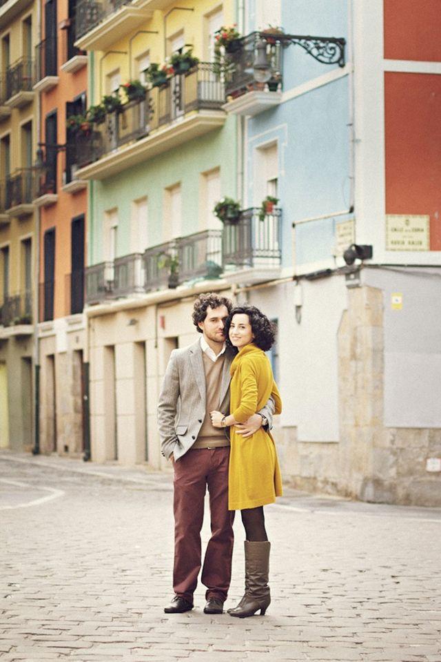 engagement shoot by 3 Deseos y Medio; via Plum Tree Weddings
