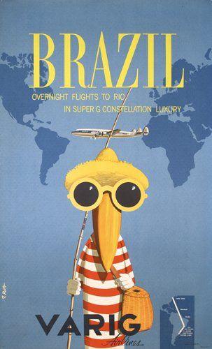 Brazil * Varig Airlines (1956-58)