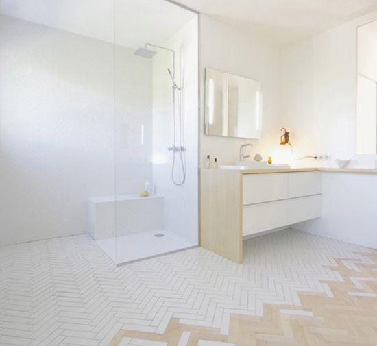 langwerpige badkamer - Google zoeken | INTERIOR | Pinterest | Tile wood