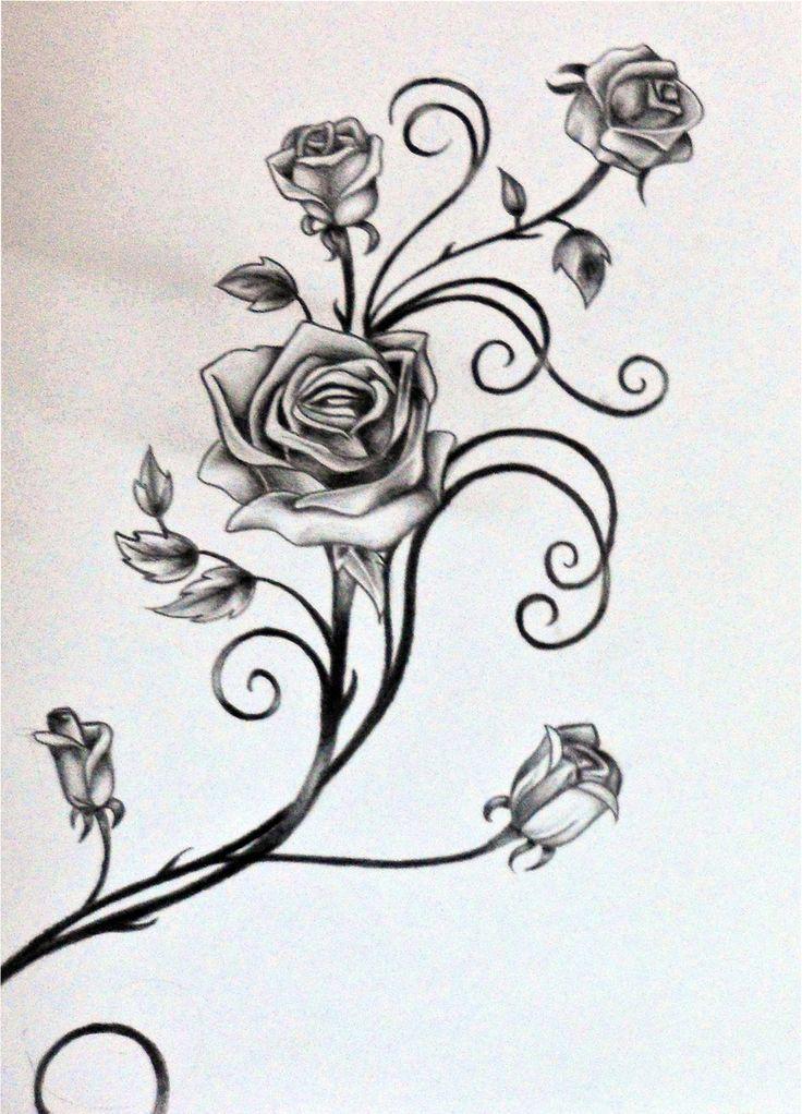 rose vines - Google Search | Rose vine tattoos, Vine tattoos, Flower vine tattoos