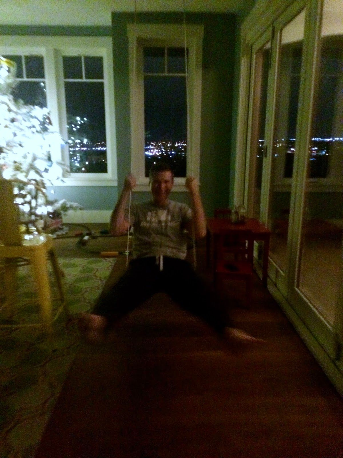Seriously.  House swings are the best idea ever. NieNie Dialogues: A few favorites in December.