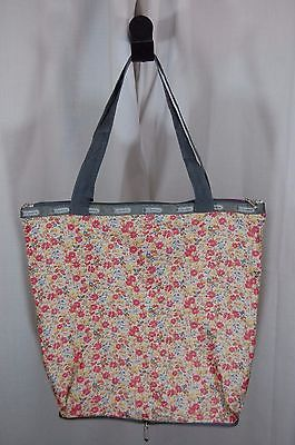 Foldaway Tote - Bright flower by VIDA VIDA Professional Cheap Price C6Pz4pXjj