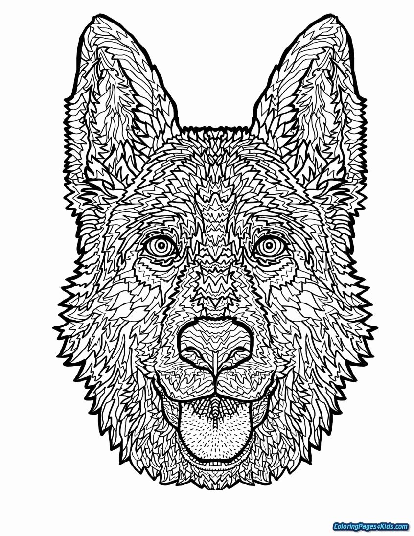 Hard Coloring Pages For Kids To Print Dog Coloring Book Dog Coloring Page Animal Coloring Pages